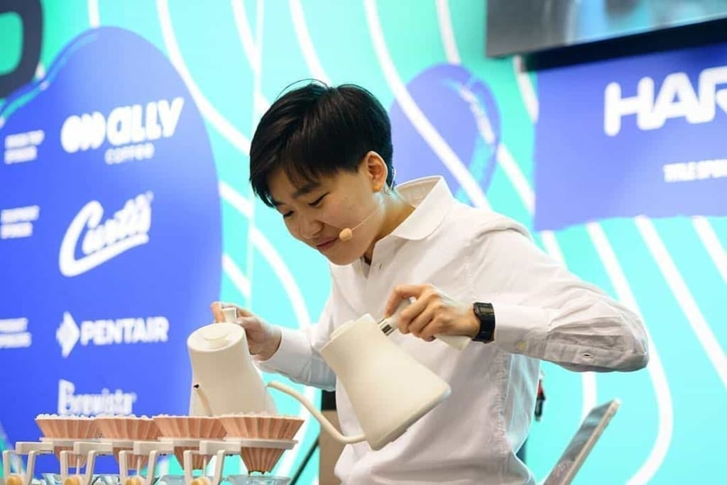 Jia Ning Du Crowned Champion In 2019 World Brewers Cup Championship In Boston.