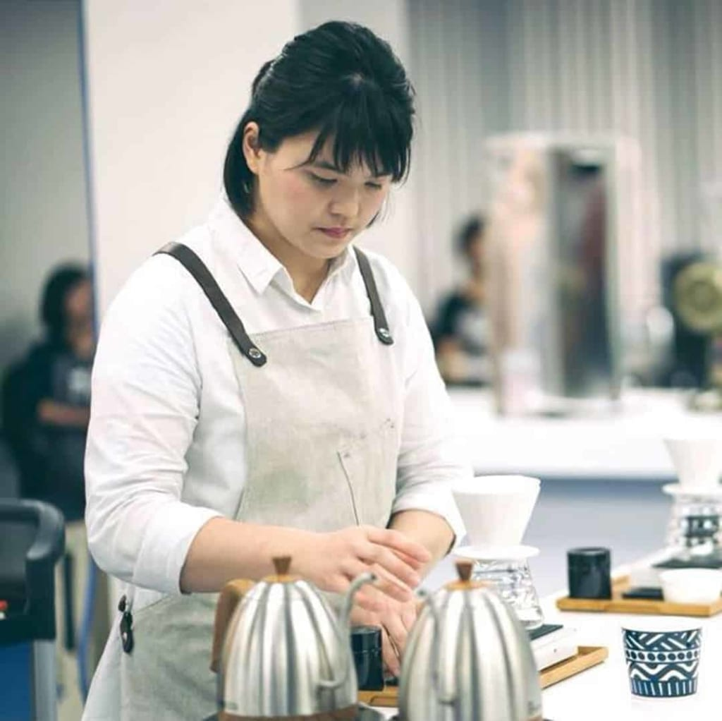 Shih Yuan Hsu Placed 5Th In 2019 World Brewers Cup Championship In Boston.