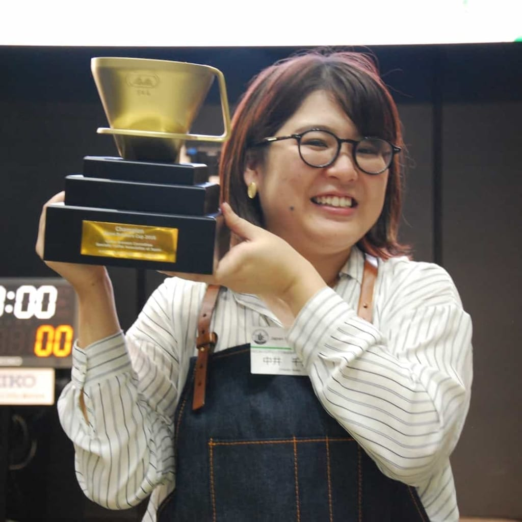 Chikako Nakai Placed 4Th In 2019 World Brewers Cup Championship In Boston.